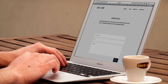 basic HTML form