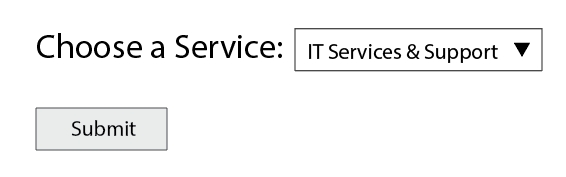 HTML select tag