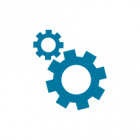 IT Services & Support | Gear icon